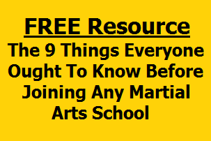 The 9 Things Everyone Ought To Know Before Joining A Martial Arts School Madison WI